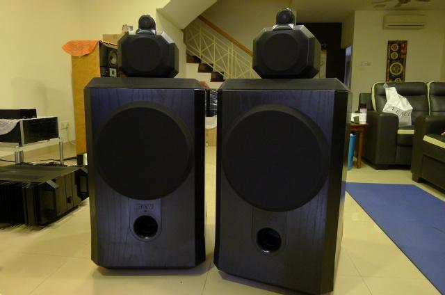 B&W Matrix 801 Series II Loudspeakers (Used) P1150429