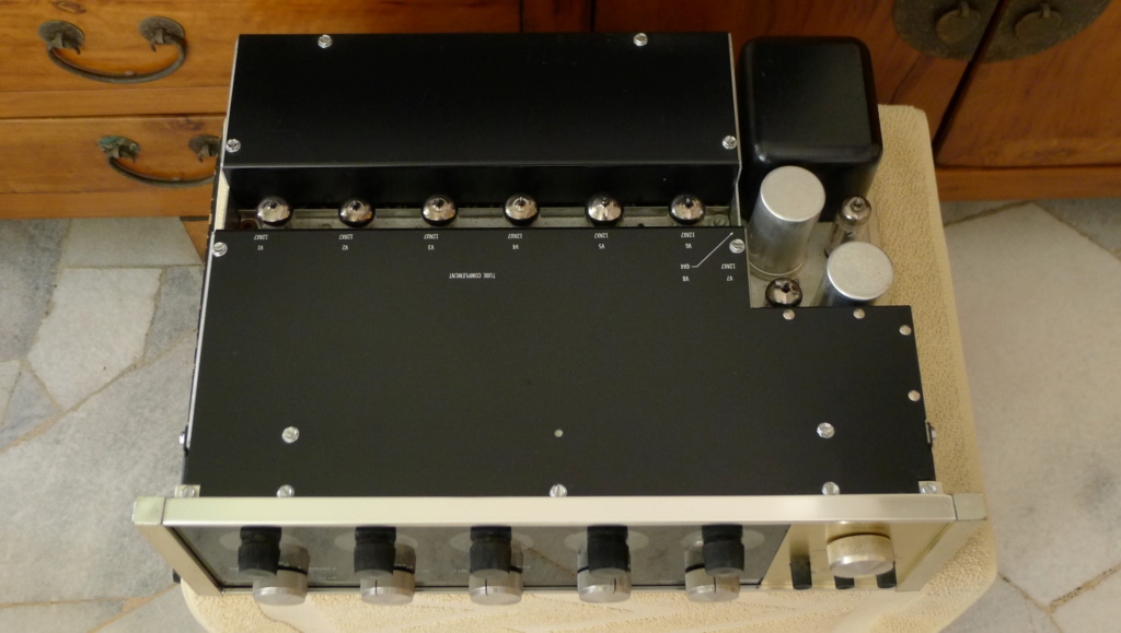 Mcintosh C-20 Tube Preamplifier - Vintage 1960 (Used) SOLD P1150437
