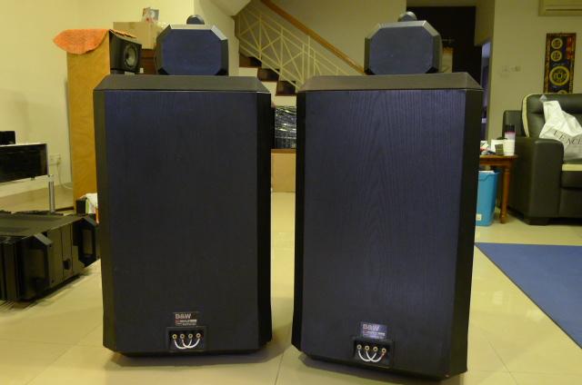 B&W Matrix 801 Series II Loudspeakers (Used) P1150510
