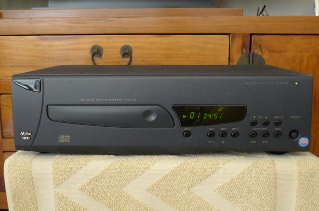 Arcam MCD Multi CD Changer 6-Disc (Used) P1150511