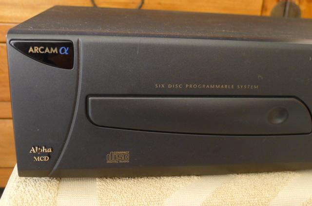 Arcam MCD Multi CD Changer 6-Disc (Used) P1150512