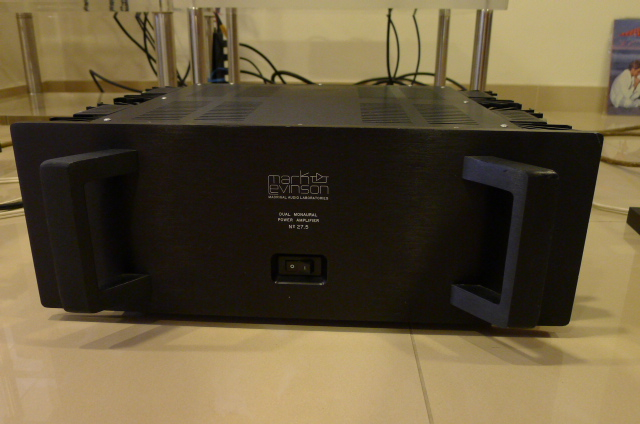 Mark Levinson No 27.5 Stereo Power Amplifier (Used) SOLD P1150529