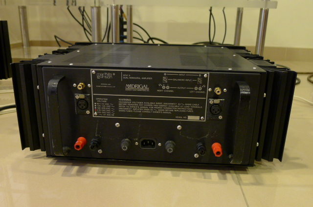 Mark Levinson No 27.5 Stereo Power Amplifier (Used) SOLD P1150531