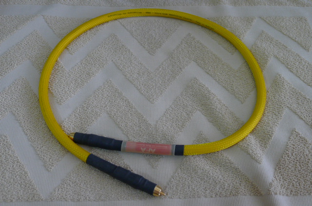 Audiophiles For Audiophiles (AFA) ARES Digital Coaxial Cable (Used) SOLD P1150638