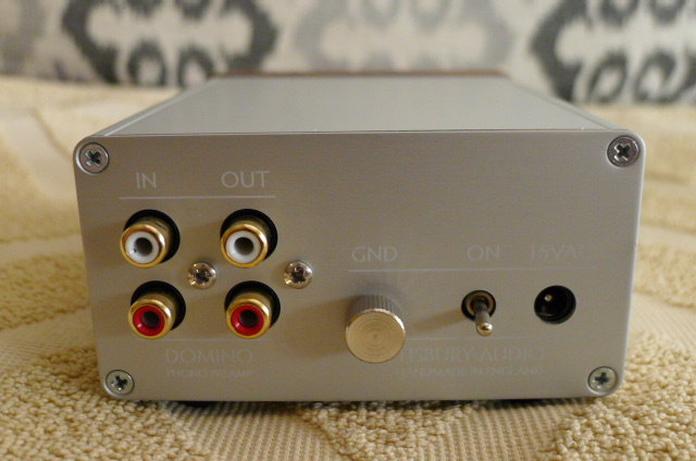 TISBURY AUDIO DOMINO Phono Preamp (Used) SOLD P1150645