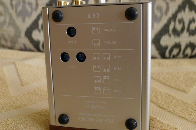 TISBURY AUDIO DOMINO Phono Preamp (Used) SOLD P1150646