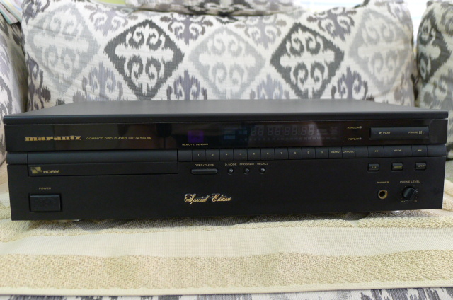 Marantz CD Player CD-72MK2 SE (Used) SOLD P1150652