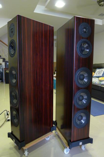 Vienna Acoustics Beethoven Concert Grand Floorstand Speakers, Rosewood Veneer (Used) SOLD P1150665