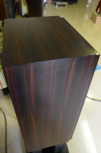 Yamaha Deluxe Version NS-1000 Loudspeakers, Luxury Ebony Wood (Used) SOLD P1150716
