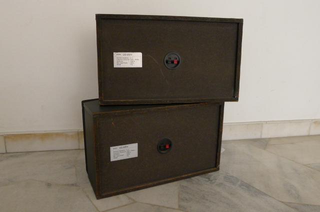 Nissindo Karaoke Speakers CS-251V (Used) P1150724