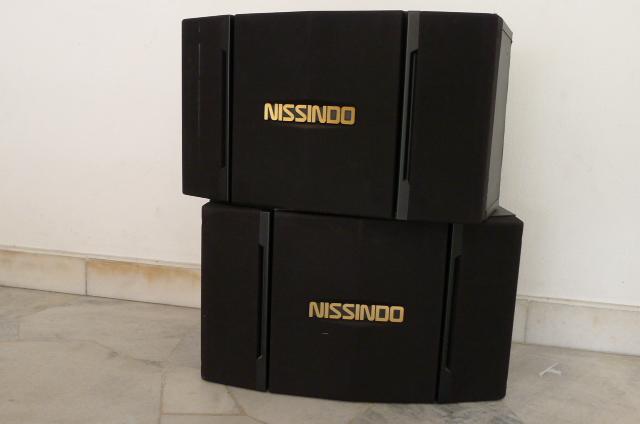 Nissindo Karaoke Speakers CS-251V (Used) P1150725