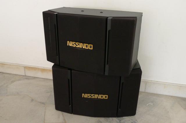 Nissindo Karaoke Speakers CS-251V (Used) P1150726