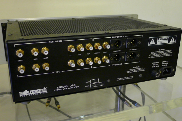 Audio Research LS2 Tube Line Preamplifier (Used) SOLD P1150729