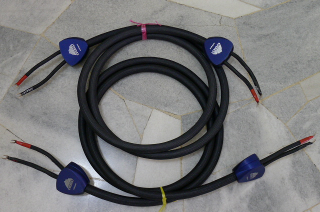 AudioQuest top of the line Everest Speaker Cables - 3 meter pairs (Used) P1150827