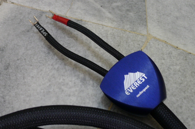 AudioQuest top of the line Everest Speaker Cables - 3 meter pairs (Used) P1150828