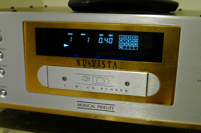 Musical Fidelity Nu-Vista 3D CD Player, Limited-Edition  (Used) P1150845