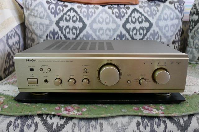 Denon Integrated Amplifier PMA-655R (Used) P1160027