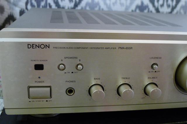 Denon Integrated Amplifier PMA-655R (Used) P1160029
