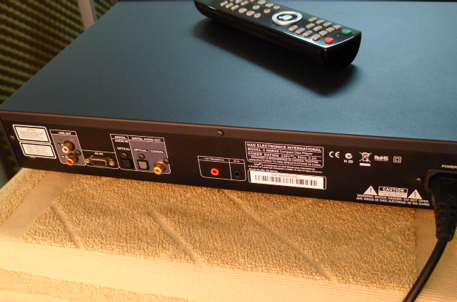 NAD CD Player C565BEE (Used) P1160034