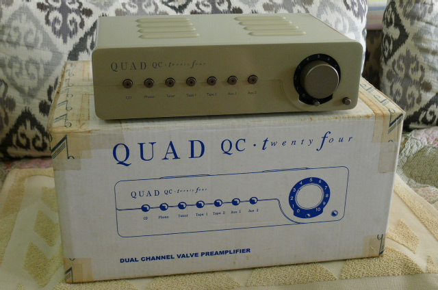 Quad QC Twenty Four Tube Preamplifier (Used) P1160041