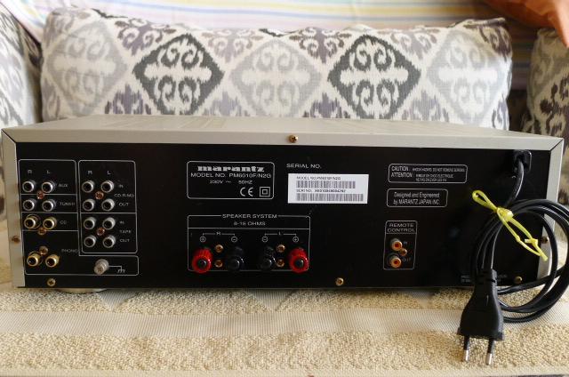 Marantz Integrated Amplifier PM6010 OSE (Used) P1160144