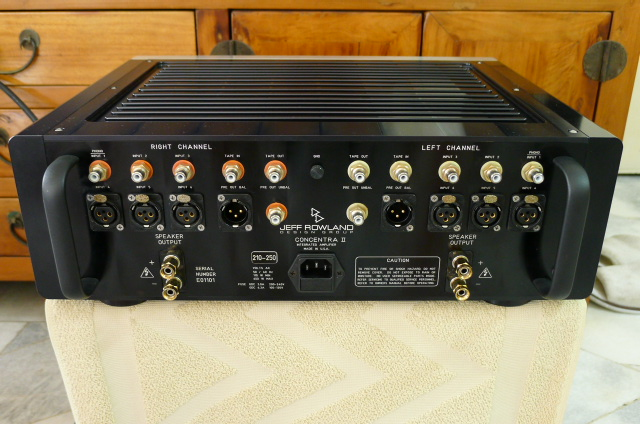 Jeff Rowland Concentra II Integrated Amplifier (Used) P1160412