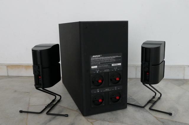 BOSE AM5 Series II Acoustimass Speaker System (Used) P1160445