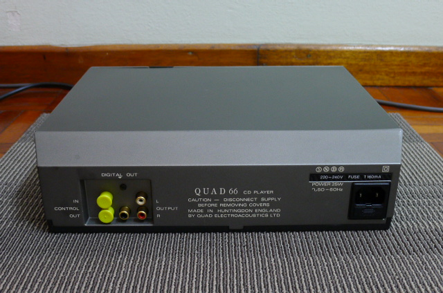 Quad Compact Disc Player CD 66 (Used) P1160451