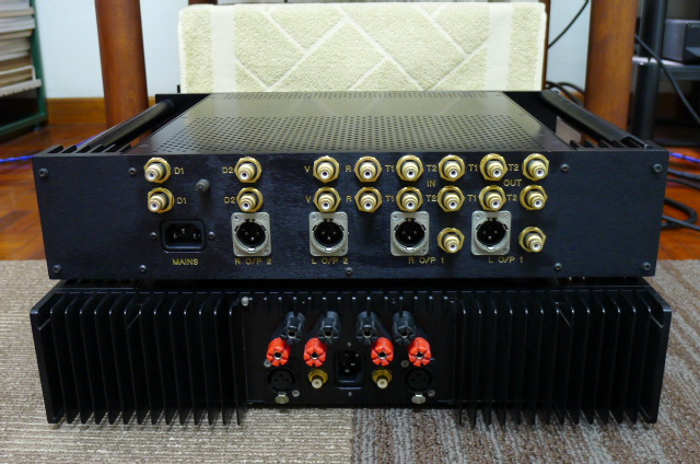 Chord CPA 2200 Preamplifier and Chord SPM 600 Power Amplifier (Used) SOLD P1160518
