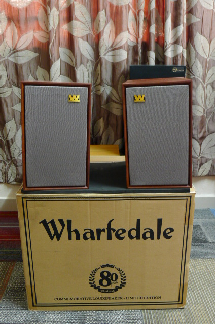 Wharfedale Denton 80th Anniversary Limited Edition Speakers (Used) P1160616