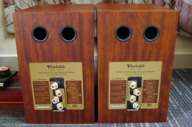 Wharfedale Denton 80th Anniversary Limited Edition Speakers (Used) P1160617