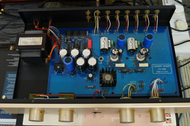 Canary Audio Tube Preamplifier CA-606 (Used) SOLD P1160624