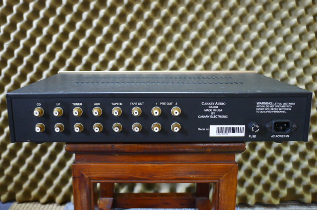Canary Audio Tube Preamplifier CA-606 (Used) SOLD P1160625