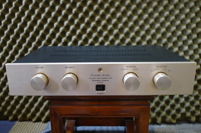 Canary Audio Tube Preamplifier CA-606 (Used) SOLD P1160626