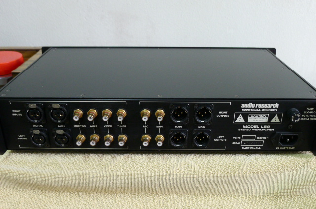 Audio Research LS9 Solid State Preamplifier (used) SOLD P1160647
