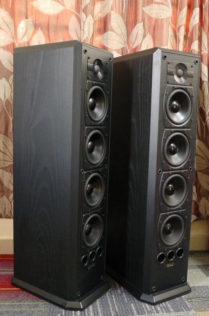 Mission 753 5-Drivers Floorstand Speakers (Used) SOLD P1160654