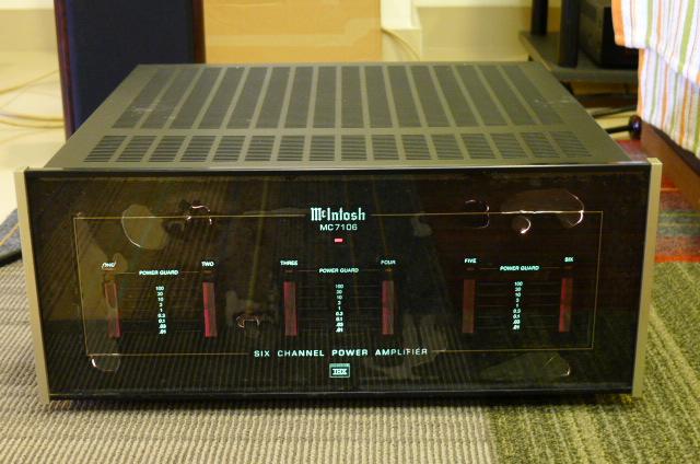 Mcintosh MC7106 Six-Channel Power Amplifier, THX Certified (Used) P1160655
