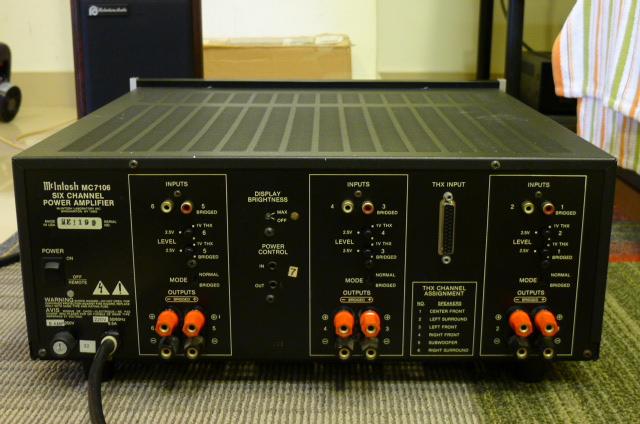 Mcintosh MC7106 Six-Channel Power Amplifier, THX Certified (Used) P1160656