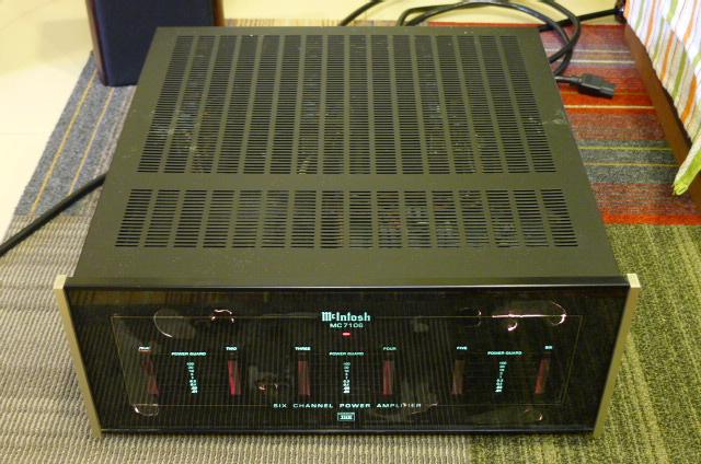 Mcintosh MC7106 Six-Channel Power Amplifier, THX Certified (Used) P1160657