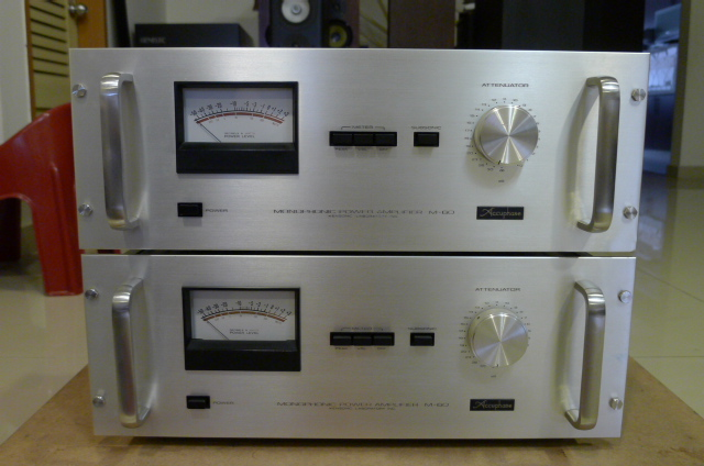 Accuphase M-60 Monophonic Power Amplifiers (Used) P1160658