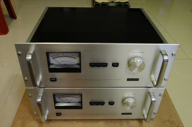 Accuphase M-60 Monophonic Power Amplifiers (Used) P1160659