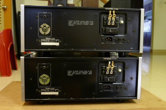 Accuphase M-60 Monophonic Power Amplifiers (Used) P1160660