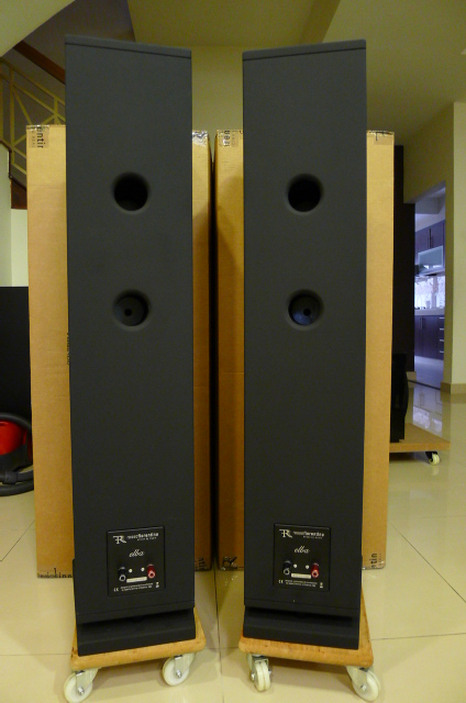 Rosso Fiorentino Elba Gen 2 Floorstand Loudspeakers (Used) P1160665