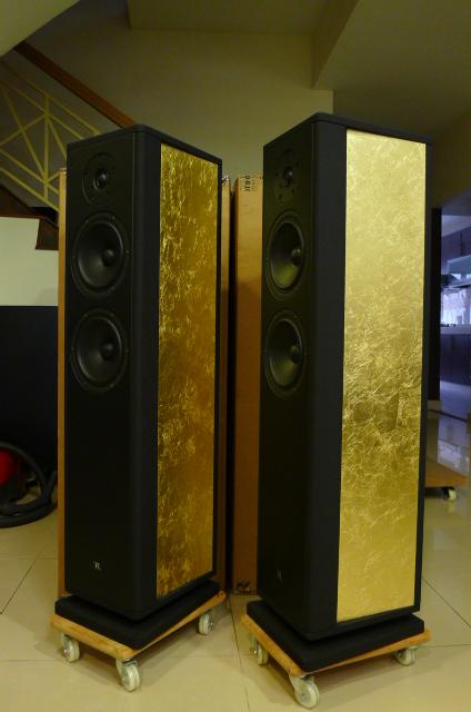 Rosso Fiorentino Elba Gen 2 Floorstand Loudspeakers (Used) P1160666