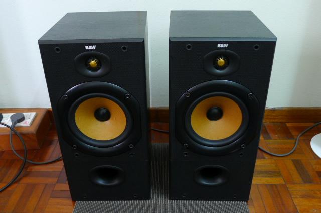 B&W DM 602 S1 Speakers (Used) SOLD P1160710