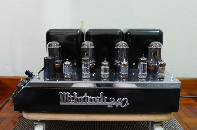 Mcintosh MC 240 Vacuum Tube Power Amplifier (Used) P1160719