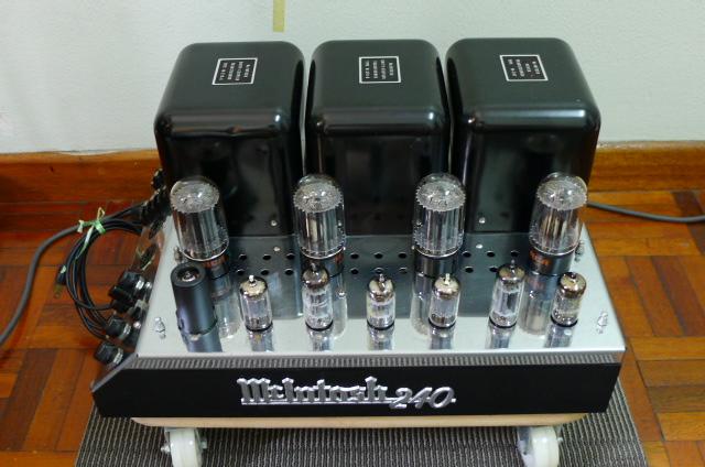 Mcintosh MC 240 Vacuum Tube Power Amplifier (Used) P1160720