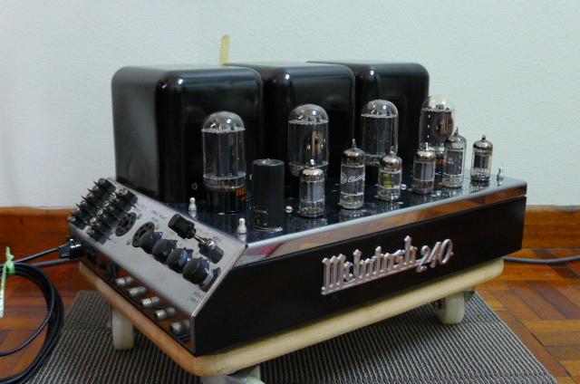 Mcintosh MC 240 Vacuum Tube Power Amplifier (Used) P1160721
