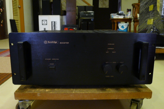 Bandridge Booster Voice 1200 Power Amplifier (Used) SOLD P1160722