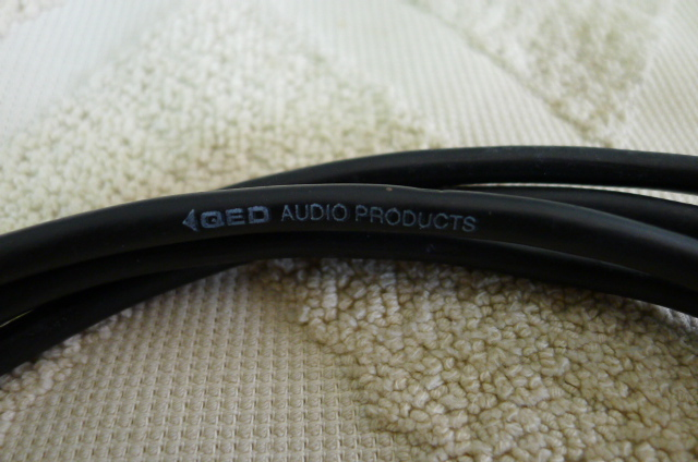 QED Audio Interconnects 1m Pair (Used) SOLD P1160736